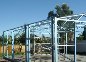 Great garages from CPR Outdoor Centre supplies in genuine BlueScope Steel.