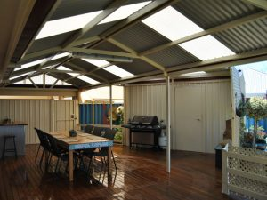 Gable Patio and BBQ