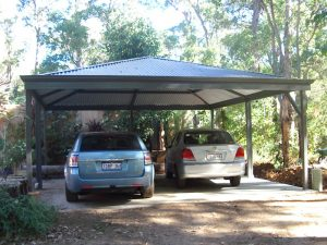 Free standing Patio - hip roof