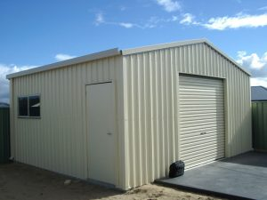 Garages built by CPR Outdoor Centre