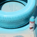 spray-painting-tire