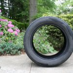 upcycled-tire-planter