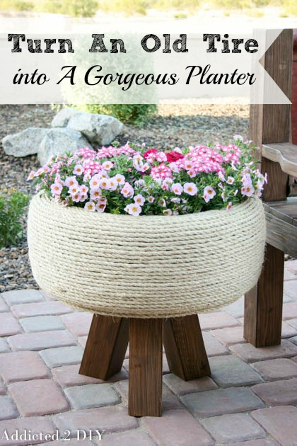 turn-an-old-tire-into-a-gorgeous-planter