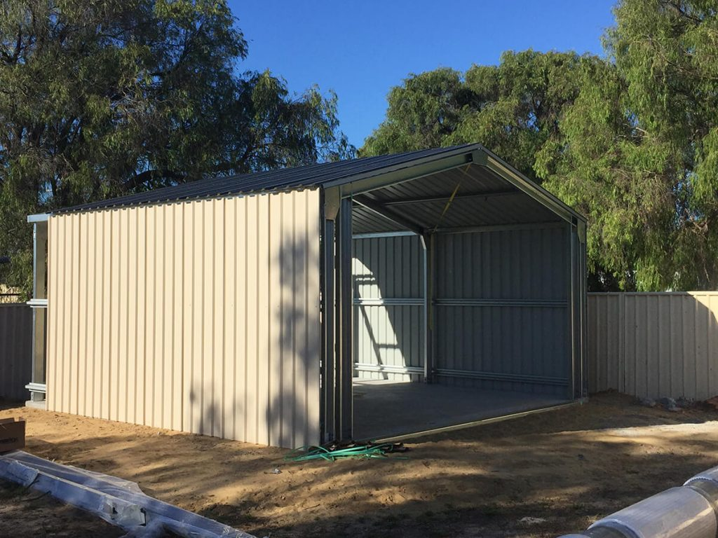 Shed - 2 sheeting & roof