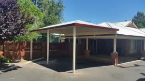 Carport Raised Hip Gable