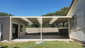 Carport - Connecting Shed and House